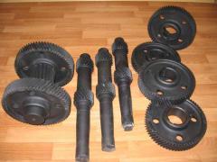 Spare parts gear
