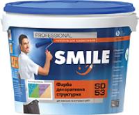 Paint decorative structural Smile SD 53 Kiev (8