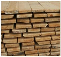 Board cut pine for export from Ukraine