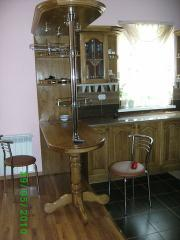Kitchens from a natural tree