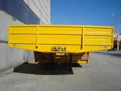 Polupritsep-kombaynovoz two-axis model 830034 for