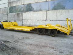 Pritsep-kombaynovoz three-axis model 830020 for