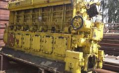 Запчастини до суднових дизелів