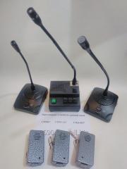 Бюджетное переговорное устройство клиент-кассир