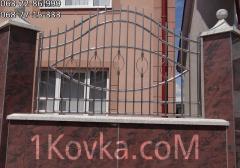 Ворота и заборы  из нержавеющей стали