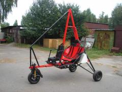 Motorized hang gliders