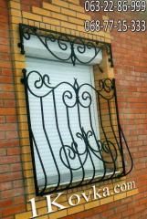 Решетка на окно кованая 1