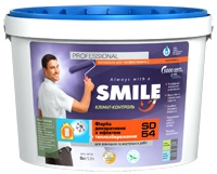 SMILE SD 54 paint decorative with effect of
