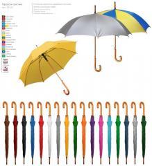 Umbrella cane a semiautomatic device - 45131