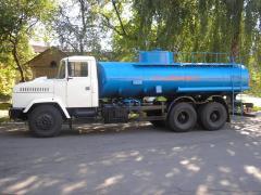 Автотопливозаправщик АТЗ-15-65053