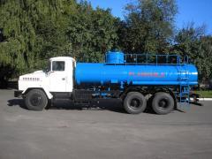 Автотопливозаправщик АТЗ-12-65053.