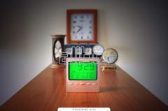 Wall clock, desktop, wris