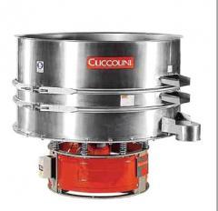 Cuccolini vibrosieve Division in the environment