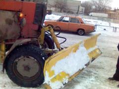 Лопата снегоуборочная навесная на трактор ЮМЗ, МТЗ, ХТЗ