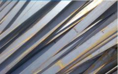 Полосы металлопроката.