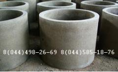 Rings, covers, bottoms and other reinforced concrete products of the Product reinforced concrete, concrete goods