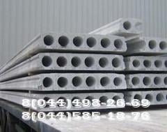 Panel / Plate of overlapping and other reinforced concrete products (concrete goods)