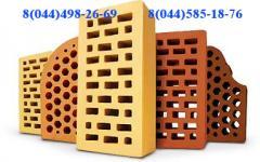 Кирпич керамический лицевой: Евротон, Керамикбудсервис, СБК, Агропромбуд, Литос и другие производители