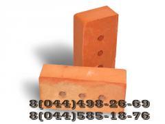Кирпич полнотелый рядовой  М75, М100, М125, М150