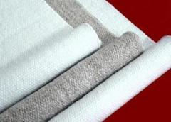 Fabrics asbestine