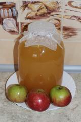 Домашний яблочный уксус на мёде