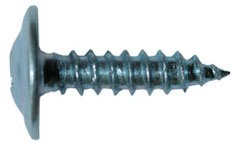 The self-tapping screw with a press washer