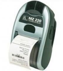 Принтер квитанций мобильный MZ 220 от Zebra