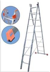 Two-element folding ladders