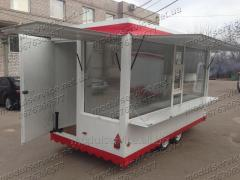 Trade trailers available in Kiev and Dnieper