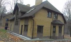 Modern cottage in the elite settlement. Relatives