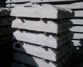 Semi-cross tie steel concrete KSh-27