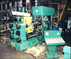 Press hydraulic for briquetting of shaving ferrous