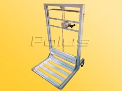 The cart with the lift platform (for raising of