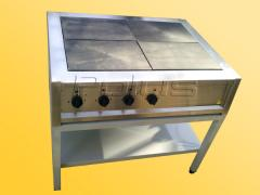 Electric stoves without cabinet oven