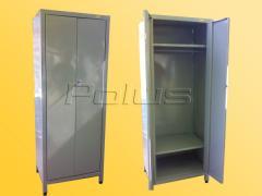 Cases wardrobe metal
