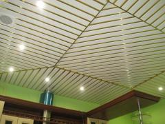 Готовый комплект реечного алюминиевого потолка, 3