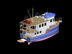 Моторная яхта НКИ66