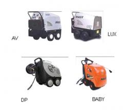 The cleaning equipment of a high pressure with