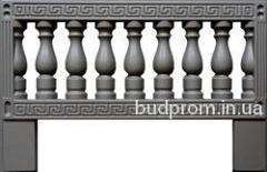 Form for production concrete an ogradok