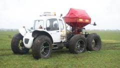 Car of the MVTU ROSA-11 firm fertilizers of