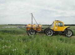 ROSA-11 sprayer (on narrow-purpose wheels)