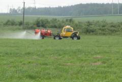 ROSA-11 sprayers (on wheels of low pressure)