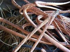 Отходы кабеля медного