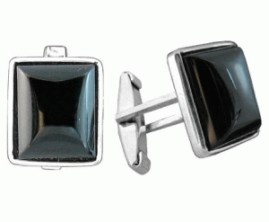 Cuff links of 'Appolon' from Ag 925 silver °