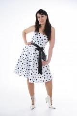 Платье 60-х Стиляги