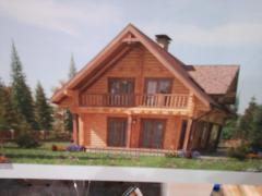 Luxury glued timber house
