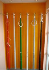 Mast flagstaff from fiber glass