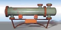 Теплообменные аппараты с U-образными трубами типа