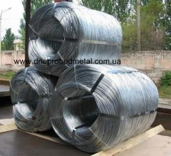 Wire galvanized firm and sof