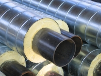 The heatisolated pipes PPU for heating systems,